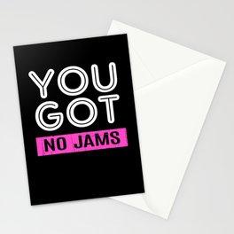 Kpop K-Pop You Got No Jams Stationery Cards