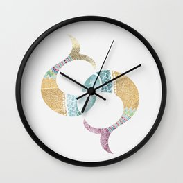 piscis Wall Clock