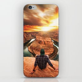 on top of canyonlands iPhone Skin