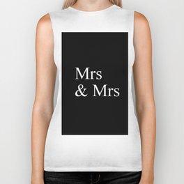 Mrs & Mrs Monogram Biker Tank