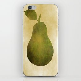 Portrait Of A Pear iPhone Skin