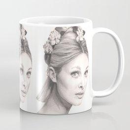 flowered tate... Coffee Mug
