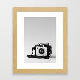 Brownie Holiday Framed Art Print