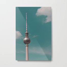Greetings from Berlin Metal Print