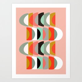 What Color Is The Moon II Art Print