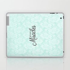 I believe in Miracles Blue Lace  Laptop & iPad Skin