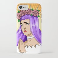 madonna iPhone & iPod Cases featuring Madonna by kittencasanova