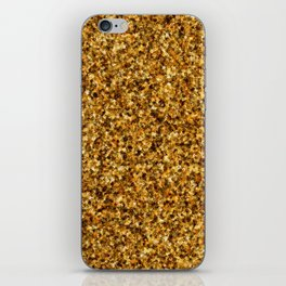 Golden Camouflage iPhone Skin