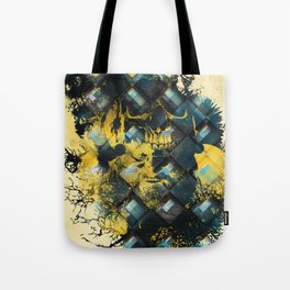 Abstract Thinking Remix Tote Bag