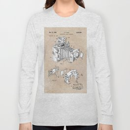 patent art 1966 Bing photographic camera accessory Long Sleeve T-shirt