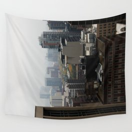 City Buildings Chicago Original Color Photo Wall Tapestry