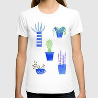 succulents T-shirts featuring Succulents by Nic Squirrell