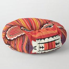 Sri Lankan Fire Demon Floor Pillow