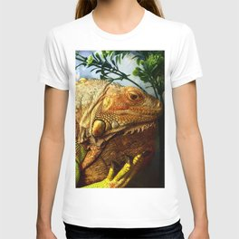 The Iguana Ben. T-shirt