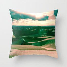 The Sands Throw Pillow