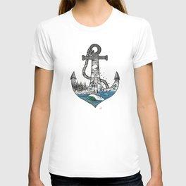Sailors anchor T-shirt