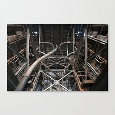 Endless Pipes Canvas Print