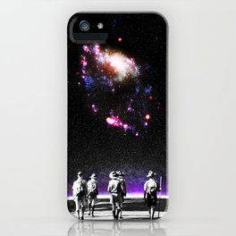 Explore The Unknown iPhone Case