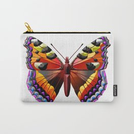 Multicolor butterfly Carry-All Pouch