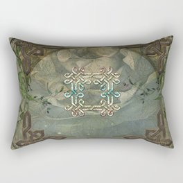 Wonderful decorative celtic knot Rectangular Pillow