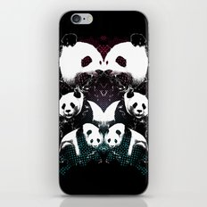 PANDA COLLIDE iPhone & iPod Skin