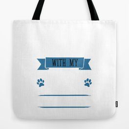 I Workout to Keep Up with My Boston Terrier T-Shirt Tote Bag