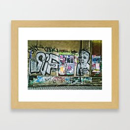 Prague Graffiti #2 Framed Art Print