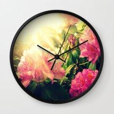 Rhododendron Resplendent Wall Clock