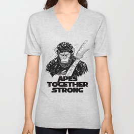 Caesar: Apes Together Strong Unisex V-Neck