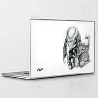 predator Laptop & iPad Skins featuring Predator. by Gary Barling