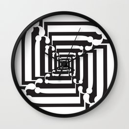 """Spin - The Didot """"j"""" Project Wall Clock"""