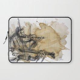 Violins in coffee Laptop Sleeve