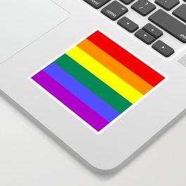 Gay pride flag Sticker