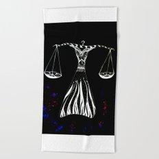 Libra Beach Towel