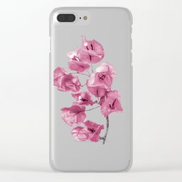 Santa Rita Flowers Photo Clear iPhone Case