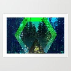 Nature Portal Art Print
