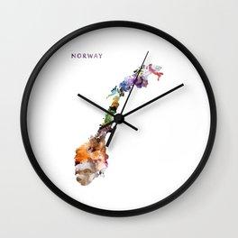 Norway Wall Clock