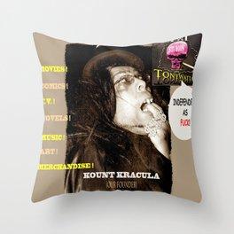 Title: TWI Studio Logo 2 -Hollyweird, Toronto, Canada Throw Pillow