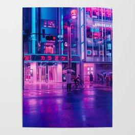 Neon Nostalgia Poster
