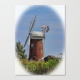 Horsey windpump Canvas Print