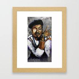 Naturally Andre Framed Art Print