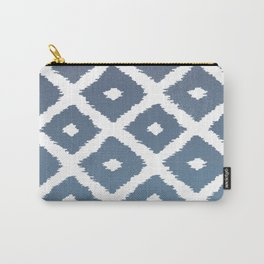 Ikat Linocut Carry-All Pouch