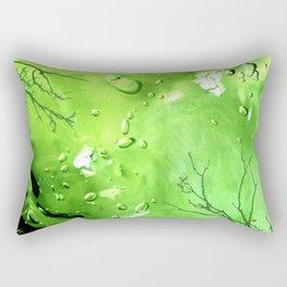 Green Goo Rectangular Pillow