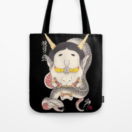hannya and snake Tote Bag
