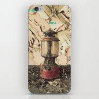 lantern iPhone & iPod Skins featuring Lantern by Shaun Lowe