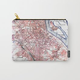 Vintage Map of Kiev Ukraine (1918) Carry-All Pouch