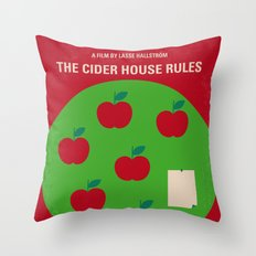 No807 My The Cider House rules minimal movie poster Throw Pillow