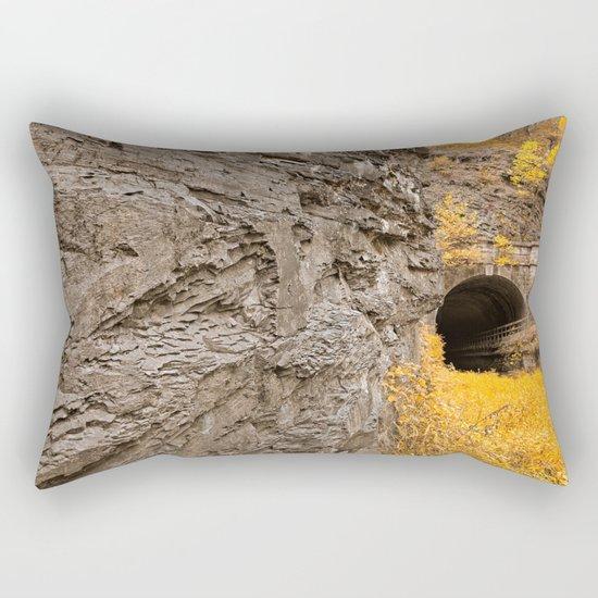 Paw Paw Tunnel - Golden Age Nostalgia Rectangular Pillow