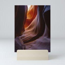 antelope canyon Mini Art Print