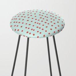 Uneven Dots Watermelon Counter Stool